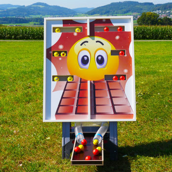 Emoji Shots Mobiler Deluxe Spielpark Events4Rent
