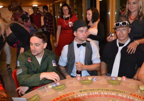 Casino Event -Geburtstagsparty Sylvia