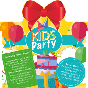 Kids Party Events4Rent
